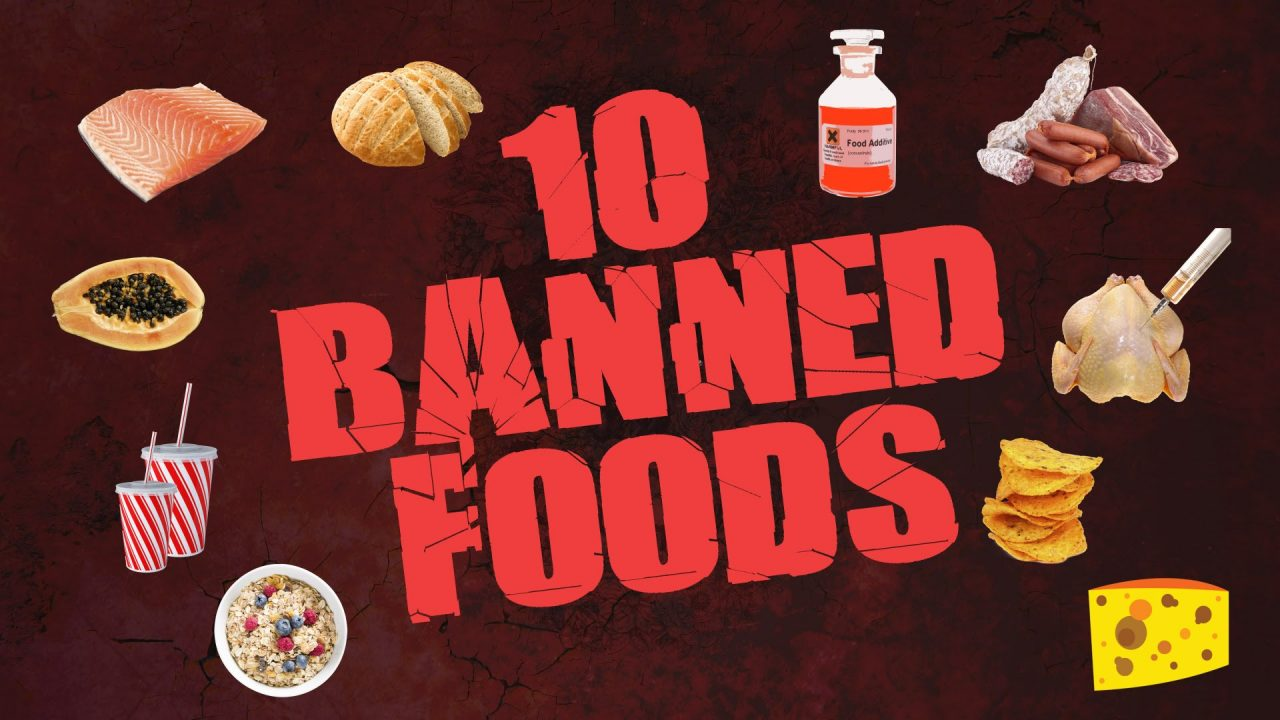 Criminal foods that are OK in the US