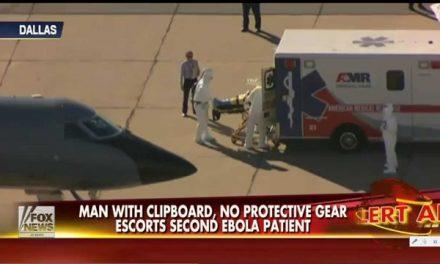 The mysterious Ebola clipboard guy