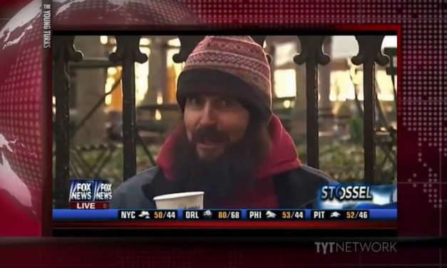 Fox news host makes  joke about being homeless