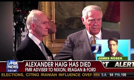 Alexander Haig and the coup against Nixon