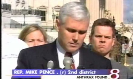 Mike Pence – Fake anthrax victim?
