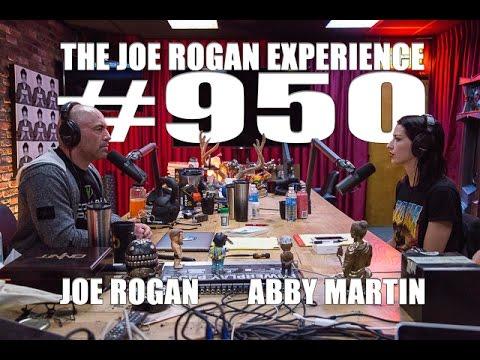 Abby Martin and Joe Rogan chat