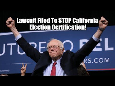 California election fraud coming undone