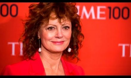 Susan Sarandon making a lot of sense