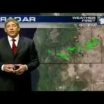 Sometimes the TV weatherman tells the truth…