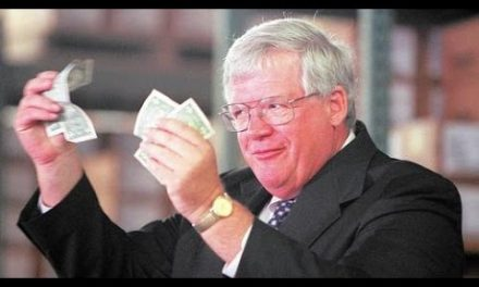 The incredible vanishing Dennis Hastert