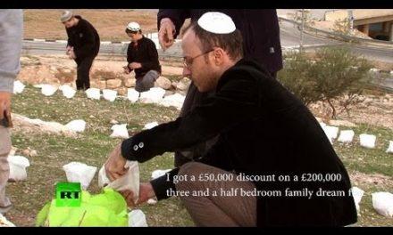 The Israeli land-theft gold rush