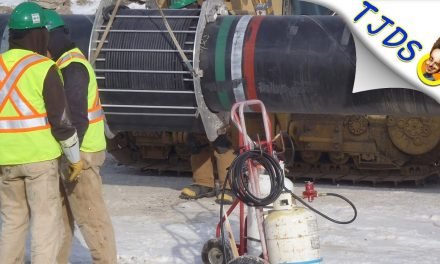 Keystone pipeline already leaking catastrophically