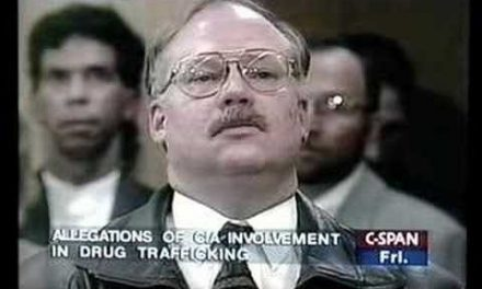 Blowing the whistle on CIA<br>involvement in drug dealing