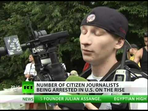 Police single out citizen journalists