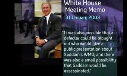 The smoking gun that will put Bush behind bars