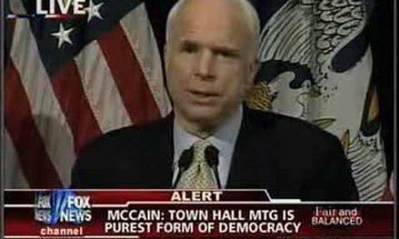 More McCain Mendacity
