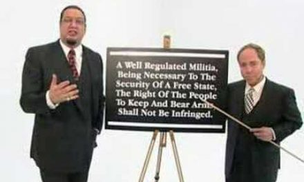 The 2nd Amendment explained in one minute