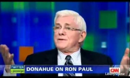 Phil Donahue on the foreign policy of a warrior nation