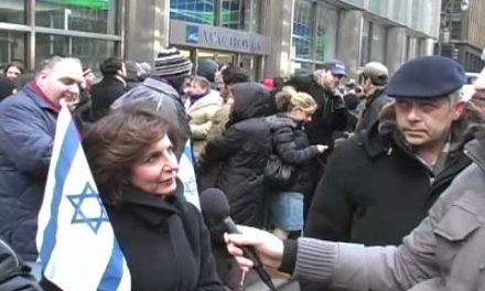 """Pro-Israeli New Yorkers endorse a """"final solution"""""""