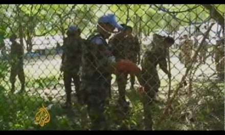 "The UN tells Haiti: ""Tough luck"""