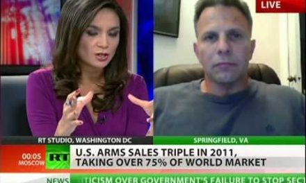 US global arms sales tripled in 2011