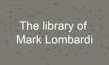 The library of Mark Lombardi