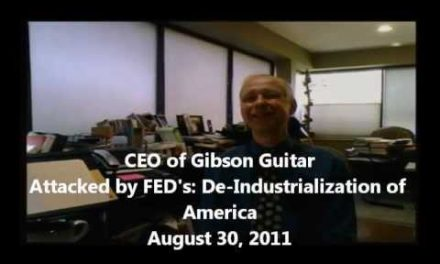 Gibson Guitar Company Attacked by Feds