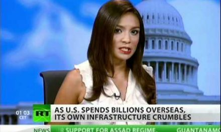 Billions spent destroying and rebuilding elsewhere<br>as the infrastructure crumbles here at home
