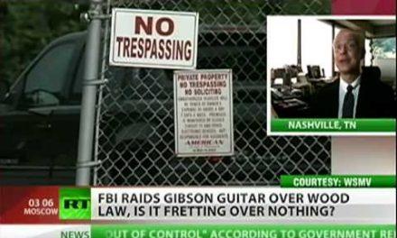DOJ vs. Gibson Guitar Company