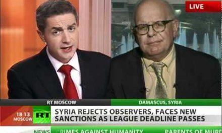 'CIA death squads behind Syria bloodbath'