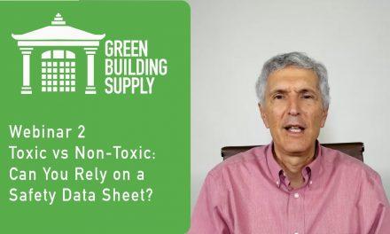 Toxic building materials