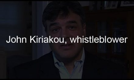 In praise of John Kiriakou, whistleblower