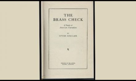 "Upton Sinclair's ""The Brass Check"""