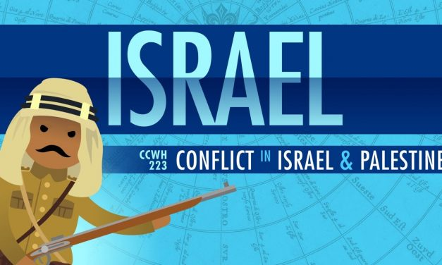 """The """"centuries old"""" Israeli-Palestinian conflict"""