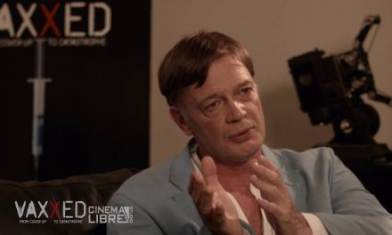 Dr. Andrew Wakefield speaks