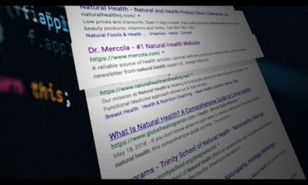 Mass censorship of health info online