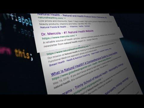 Mass censorship of health info online