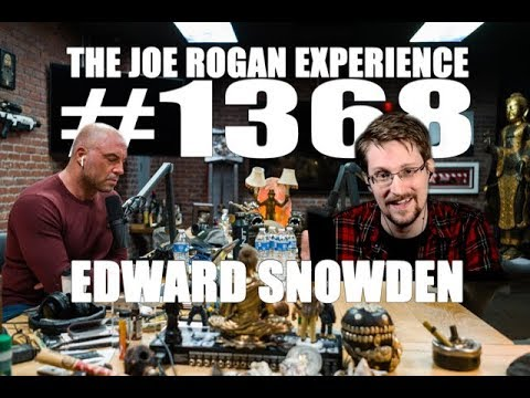 Edward Snowden on the Joe Rogan Show