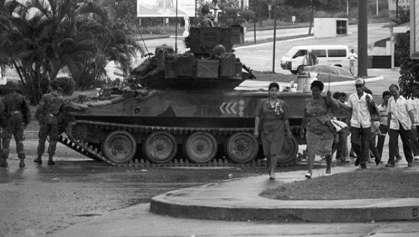 Panama: George Bush Sr's dream war