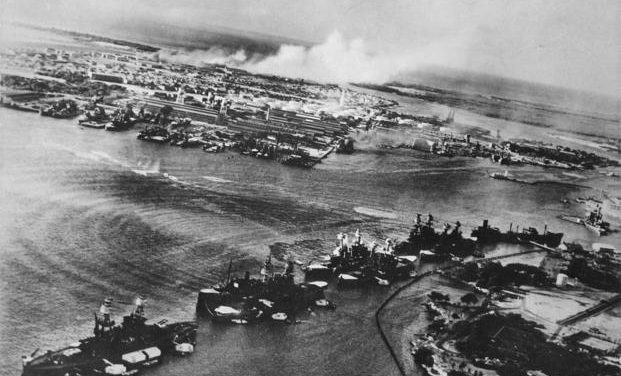 Behind the Pearl Harbor Attack