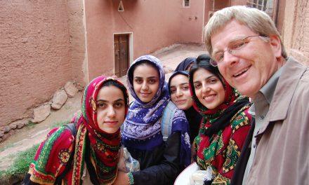 US businessman visits Iran