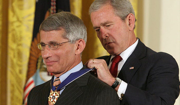Fauci is a creation of the Bush Family