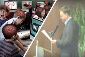 WIFI disaster in Canadian public school