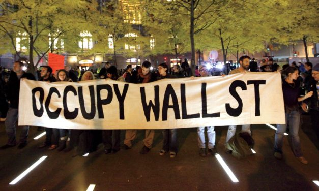 Putting a target on the back of Occupy