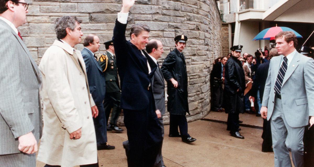 Who really shot Ronald Reagan?