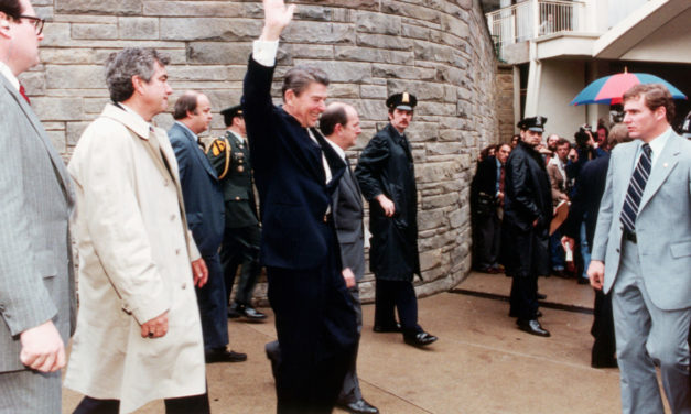 Who really shot Ronald Reagan?