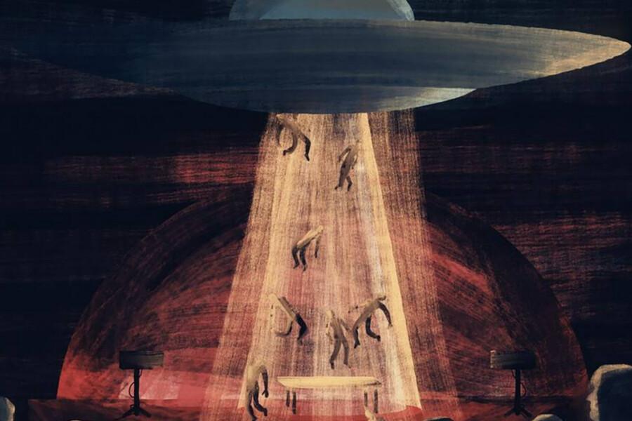 Fake UFO cults