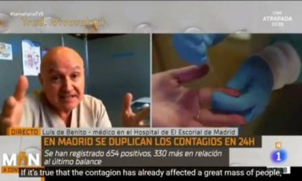 Doctor tells the truth and annoys the news media