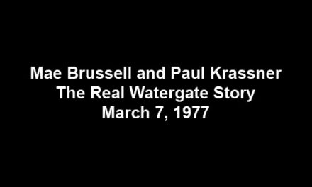 The real Watergate story