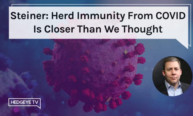 Is herd immunity already here?