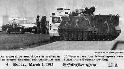 Wesley Clark at Waco Siege 1993